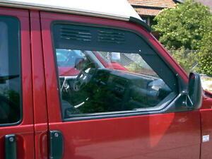 Lüfterbleche Lüftungsgitter Fahrerhaus Fenster re.+li. VW Bus T4 T 4 46145r NEU