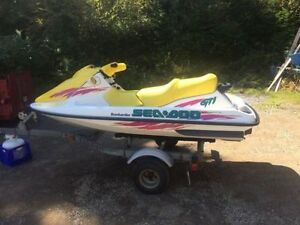 SEA DOO GTI New Engine only 3 hours ! Comes w/ Trailer and Cover