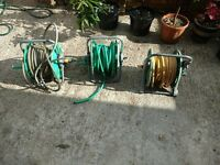 **GARDEN TOOLS**GARDEN HOSE AND REEL** £15 EACH**