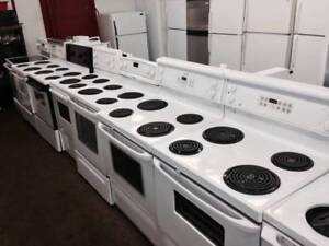 STOVE SELF CLEANING OVEN VERY CLEAN WITH WARRANTY