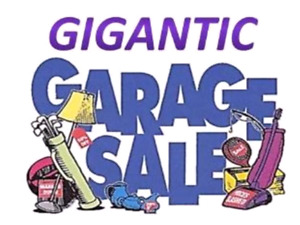 GIANT MULTI-FAMILY GARAGE SALE IN MOUNT HOPE!!