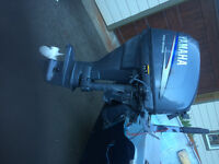Yamaha 25 hp 4 stroke long shaft boat motor