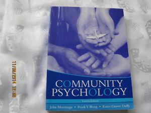 Community psychology - 4th edition; moritsugu, wong, duffy