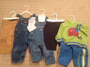 Boys 6 month winter clothes lot