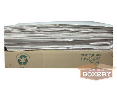 Tissue Paper 20x30'' - 480 Sheets 10lbs WHITE by The Boxery