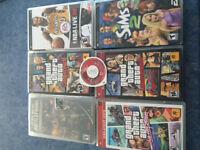 6 jeux pour PSP