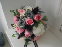 Hand Tied Scottish Bridal Bouquet