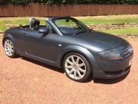 2003 52 Audi TT Roadster 1.8T 180hp ONLY 69k Miles! Recent Timing Belt Full Heated Leather