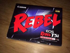 Rebel T5i Canon Camera