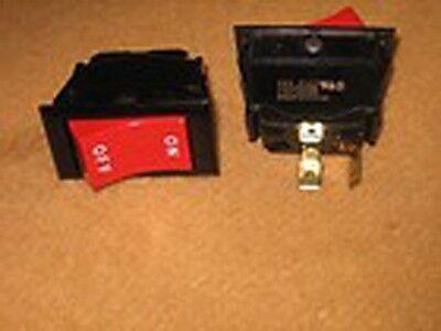 1 Box Of Qty 100 Eaton Onoff Red Rocker Spst Switch 125vac 15a 34hp