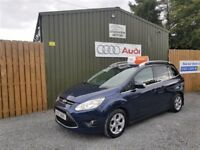 **NOW SOLD**2011 FORD GRAND C-MAX ZETEC, 1.6 TDCI, FULL FORD SERVICE HISTORY, LOW MILES, 7 SEATER