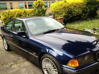 BMW 325 SE AUTO 2 DOORS COUPE MAURITUIS BLUE 1992