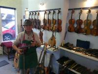 Violins for Sale - Professional Violin Repair - Violin Setups - Anything String!