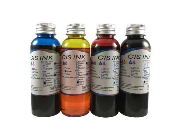 Edible Ink Refill Kit For Canon Epson Brother Printers 4x...