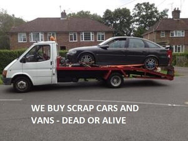 SCRAP CARS AND VANS WANTED - WOLVERHAMPTON