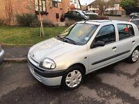 Renault Clio Grande 2002, good condition car for sale, 1.2 petrol, 5 doors, low mileage, Maidstone
