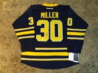 RYAN MILLER Signed Buffalo Sabres Reebok NHL Hockey Jersey w/COA