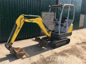 Wacker Neuson 1404 Mini Excavator, Low Hours