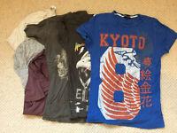 8 t-shirts xs size