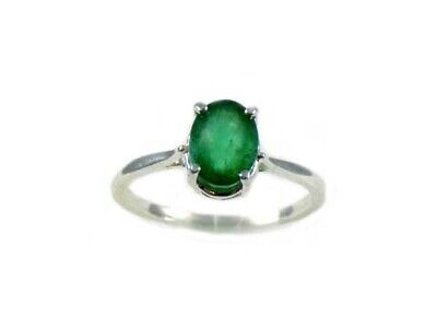 Siberian Emerald Ring 19thC Antique Gemstone of Ancient Greece Aristotle Plato