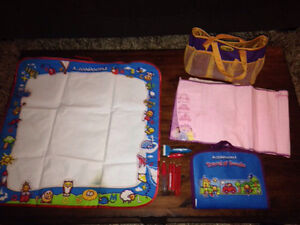 AQUADOODLE TRAVEL, FLOOR MAT, DISNEY & CARRY BAG LOT Kitchener / Waterloo Kitchener Area image 1