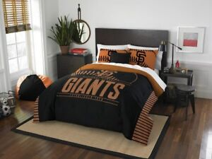 "San Francisco Giants Bedding Full/Queen Comforter Set OFFICIAL MLB ""Grand Slam"""