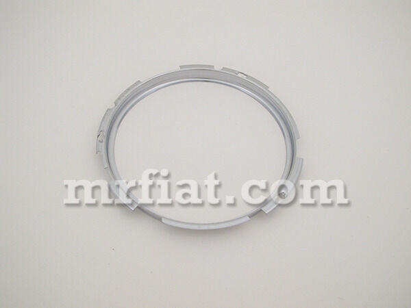 Alfa Romeo Spider Chrome Headlight Ring Oem New