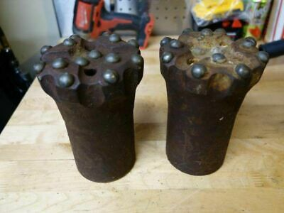 Two - 4 12 Button Rock Drill Bits 2 Thread Inlet 6 34h Drilling Bit