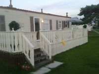 Beautiful 3 Bedroom Caravan in Selsey - 1 week left in the summer holidays (27th Aug - 3rd Sep)