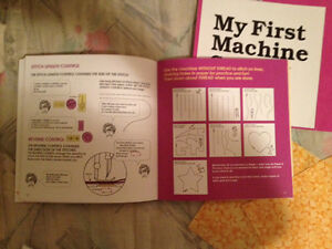 My First Machine Sewing book , for ages 7+, asking 5.00/OBO London Ontario image 2