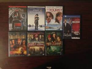 Johnny Depp Movie Collection ( 7 DVDs )