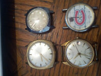 4 DIFFERENT WATCHES