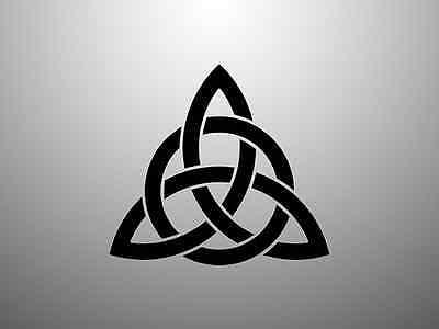 Celtic Knot Viking Triquetra Norse Sticker Decal Window Vinyl (Celtic Window Sticker)