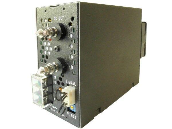Shindengen Schaltnetzteil 200W 5V 40A HY05040GN Metallgehäuse Einstell Poti LED