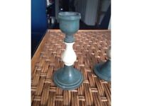 Candle stick holders (a pair)