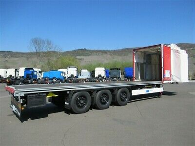 Krone Orten C+ SafeServer Plane Plateau Container Bef.