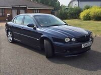 Jaguar x-type sports AWD full service history, 1 former keeper, 105k only, full leather interior,
