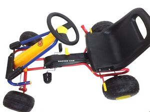 Strong Metal Kids Racing Pedal Go Kart with Steering Fremantle Fremantle Area Preview