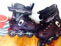 Quality inline skates size 7
