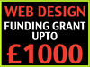 FREE Website Design Funding (upto £1000) Available (Funding, Grant Scheme) FREE Ecommerce Site London