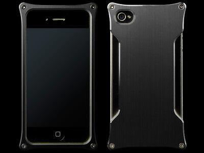 Abee Aluminum Jacket For iPhone 4 Variety 06 Black