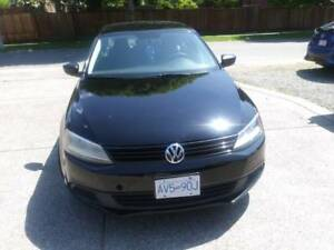 2012 Volkswagen Jetta black Sedan