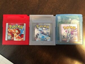 Pokémon gameboy games