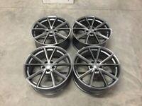"18 19 20"" Inch Audi RS4 V Spoke style alloy wheels A3 A4 A5 A6 A7 Caddy Seat Leon Passat Skoda 5x112"