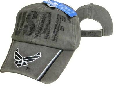 Us Luftwaffe Wings Olive USAF United States Air Force Gesteppt Buchstaben ()