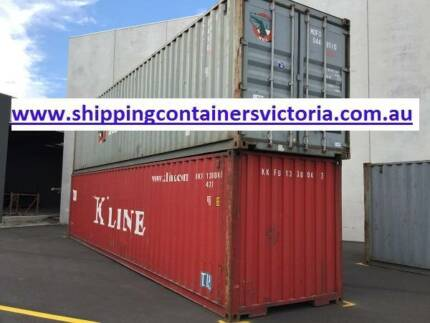 40ft Gen Shipping Container. Agrade. Water and Vermin Proof. Sunshine West Brimbank Area Preview