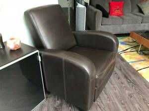 Contemporary modern Recliner chair - last chance!