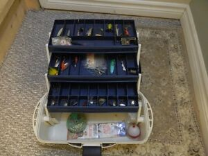 Fishing Tackle Box & Accessories