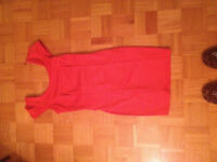 Red Dress with Fun Bow For Sale