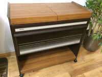 Philips retro food warmer hostess trolley ,great condition, full working order